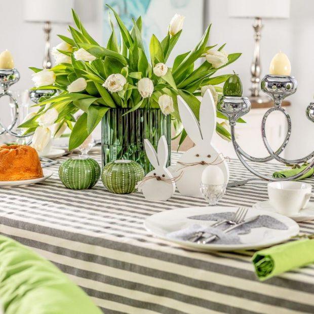 Piękny stół - 15 aranżacji idealnych na Wielkanoc