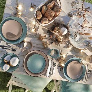 Wielkanocny stół. Fot. KiK