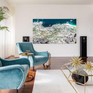Aranżacja apartamentu na 46 piętrze Złotej 44. Fot. Clue Studio