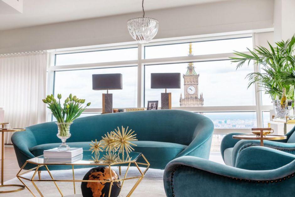 Nowoczesna klasyka w luksusowym wydaniu - zobacz wnętrze apartamentu przy Złotej 44