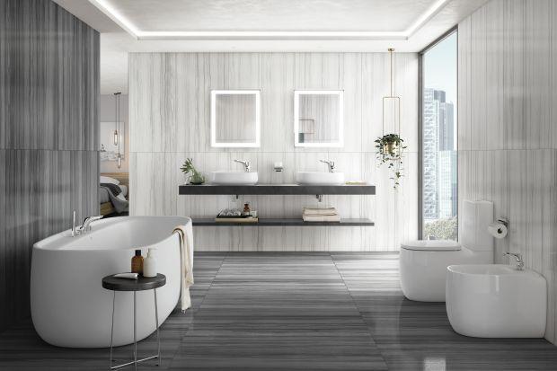 Luksusowa łazienka - seria wyposażenia stworzona do relaksu
