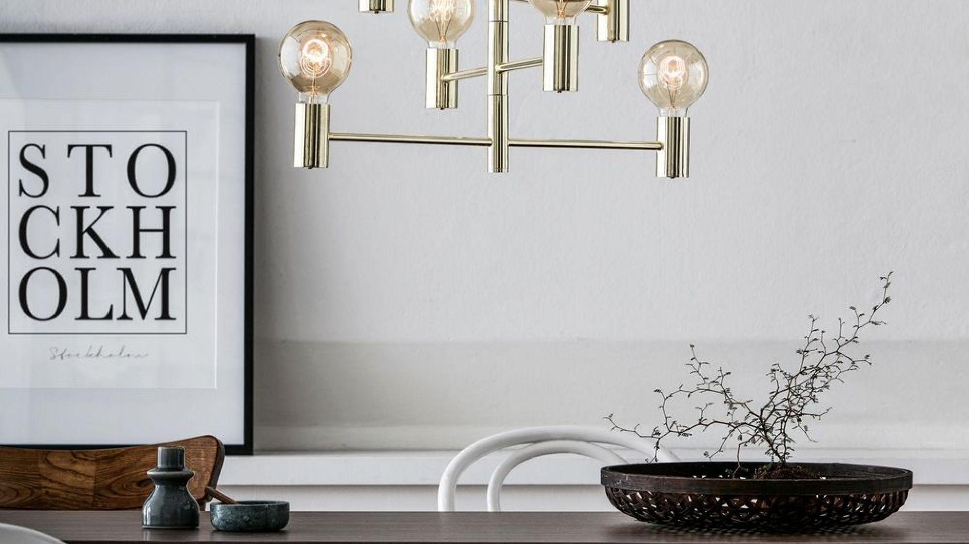 Oświetlenie w stylu skandynawskim, kolekcja: Capital. Fot. Tomix