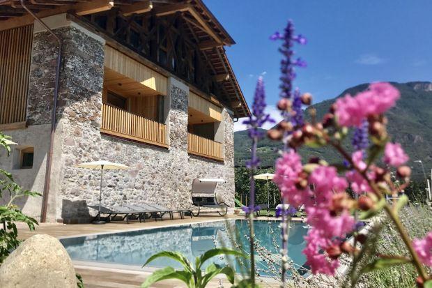 Nowoczesne gospodarstwo - zobacz klimatyczne farmy południowego Tyrolu