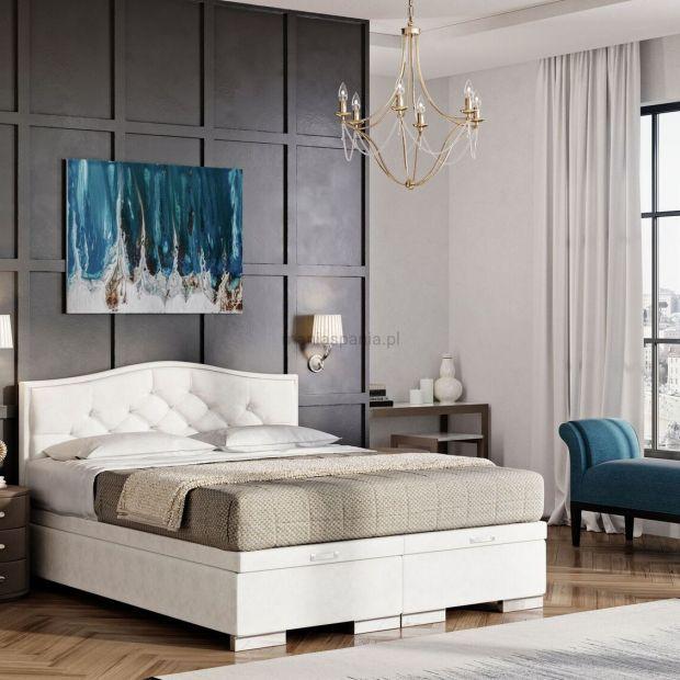 Sypialnia w stylu glamour: piękne wnętrza