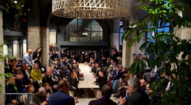 Inauguracja Listone Giordano Arena - projekt Michele De Lucchi