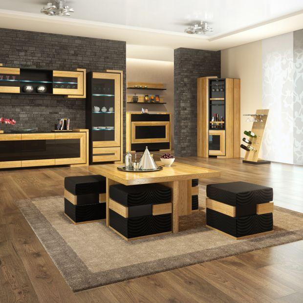 Meble wielofunkcyjne - pufa i stołek