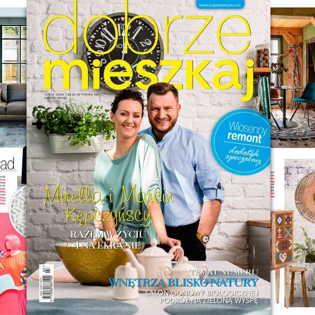 Magazyn Dobrze Mieszkaj 3-2019  już w sprzedaży