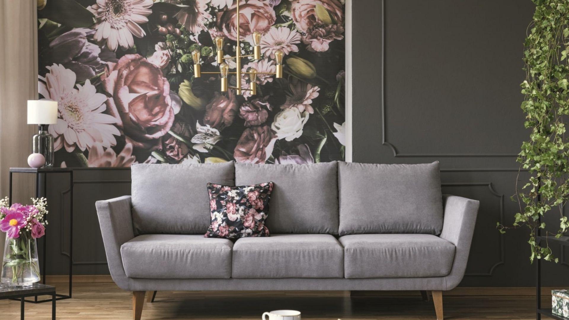 Wnętrza w modnej, kwiatowej oprawie: Tikkurila Optiva Ceramic Super Matt 3. Fot. Tikkurila