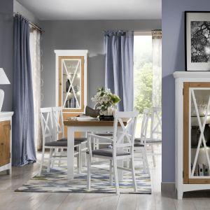 Kolekcja Avignon to styl rustykalny w eleganckim wydaniu. Fot. Szynaka Meble