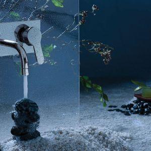 Nowoczesne baterie prysznicowe posiadają dużo dodatkowych funkcji. Mogą być wyposażone w sitko chroniące głowicę przed zanieczyszczeniami, system wyciszający, perlator oszczędzający i napowietrzający wodę czy system ochrony przed osadzaniem się kamienia wapiennego. Fot. Jaquar
