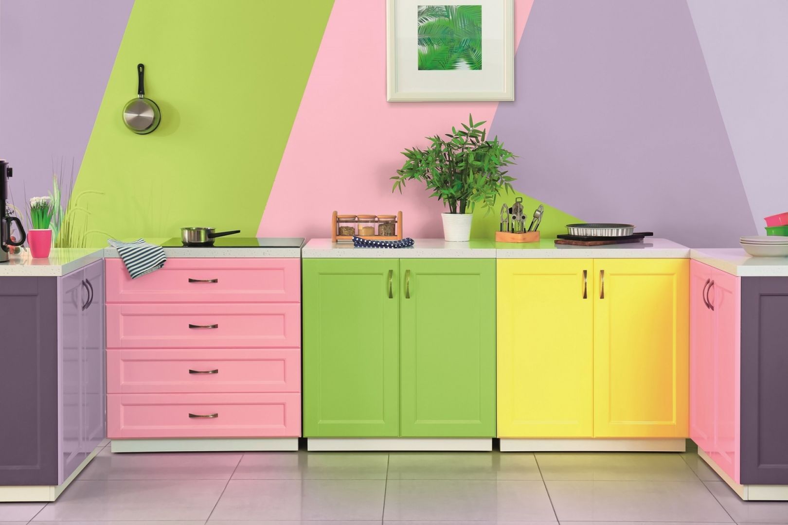 Kreatywna zabawa kolorami farb Magnat Creative. Fot. Magnat