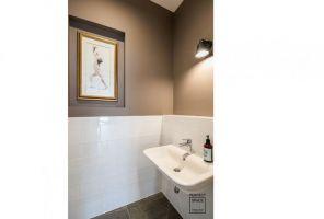 Toaleta dla gości. Projekt i zdjęcia: Perfect Space