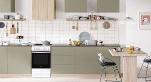 Szybkie nagrzewanie komory piekarnika, intuicyjne funkcje i odświeżony design to cechy nowych kuchenek wolnostojących.