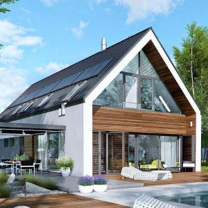 174-metrowy dom EX 19 G2 Energo Plus. Projekt: Artur Wójciak. Fot. Pracownia Projektowa Archipelag