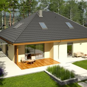 Dom Astrid II G2. Projekt: arch. Artur Wójciak. Fot. Pracownia Projektowa Archipelag