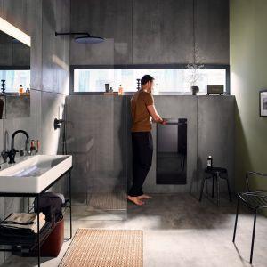 Zehnder Zenia - nowość technologiczna dla tych, którzy cenią komfort i luksus. Urządzenie grzewcze łączy funkcje podgrzewacza i suszarki do ręczników, grzejnika na podczerwień oraz termowentylatora. Fot. Zehnder
