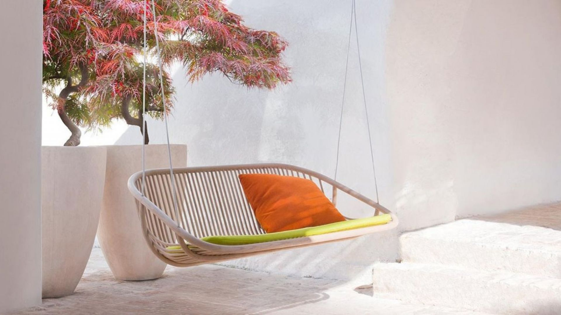 Meble ogrodowe marki Paola Lenti (Roomsdesign). Fot. Paola Lenti