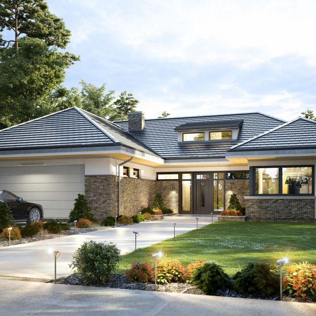 Nowoczesny, parterowy dom. Wyjątkowy projekt i wnętrza