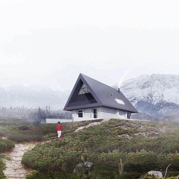 Dom z prywatnym Giewontem. Zobacz ciekawy projekt!