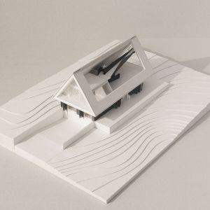Dom z prywatnym Giewontem. Projekt i grafiki: BXBstudio Bogusław Barnaś