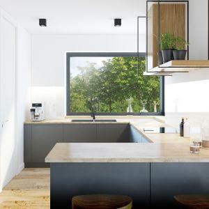 """Mała, komfortowa parterówka """"Dom w renklodach 2 (G2)"""". Fot: Biuro Projektów ARCHON+"""