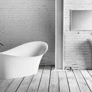 Umywalka wolnostojąca z kolekcji Alice. Fot. Marmorin Design