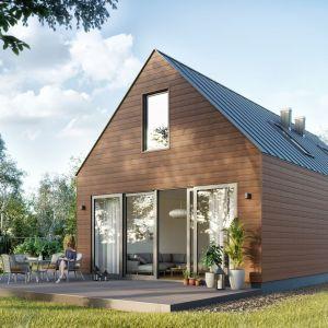 Panele elewacyjne – alternatywa dla naturalnego drewna. Na zdjęciu kolekcja Kerrafront Wood Effect. Fot. Vox