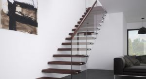 """Oryginalna konstrukcja oraz wizualna lekkość schodów ażurowych sprawiają, że dla wielu to wnętrzarskie """"must have""""."""