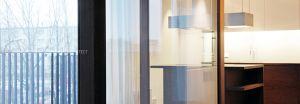 Projekt aranżacji wnętrza penthausu przeznaczonego na wynajem długoterminowy. Projekt i wizualizacje: ANIEA - Andrzej Niegrzybowski architekt
