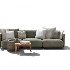 Sofa ogrodowa Eddy marki Flexform. Fot. Studio Forma 96