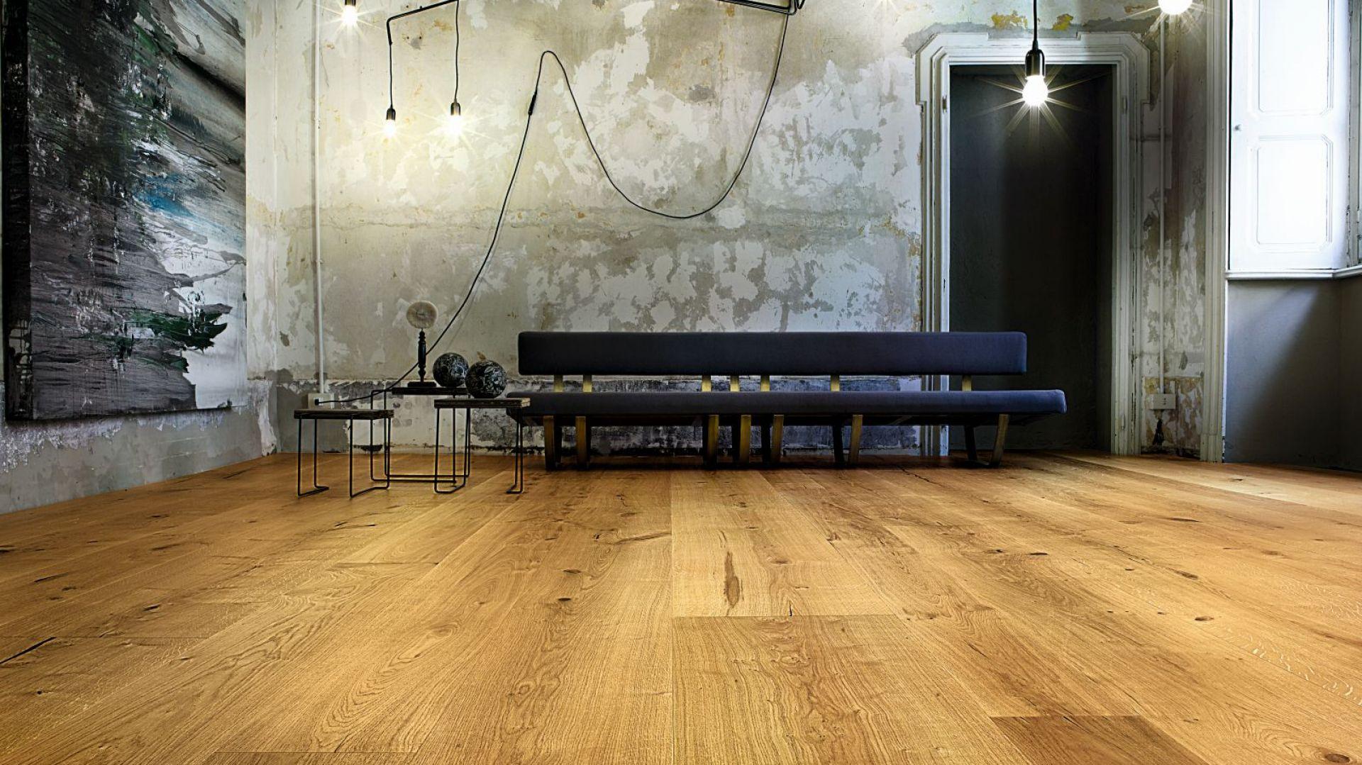Drewniany parkiet. Nowa, ciekawa kolekcja Atelier. Fot. Listone Giordano