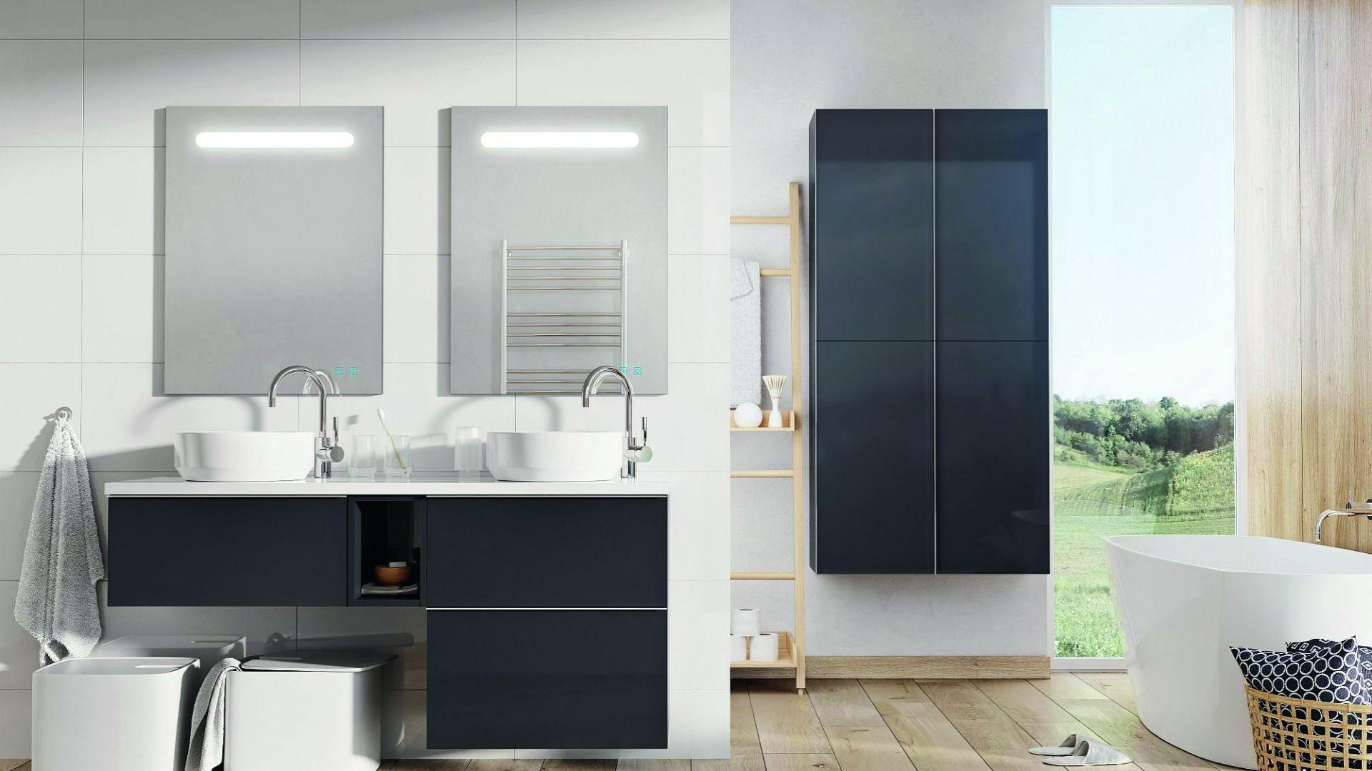 Kolekcja mebli łazienkowych Look marki Elita. Fot. Elita