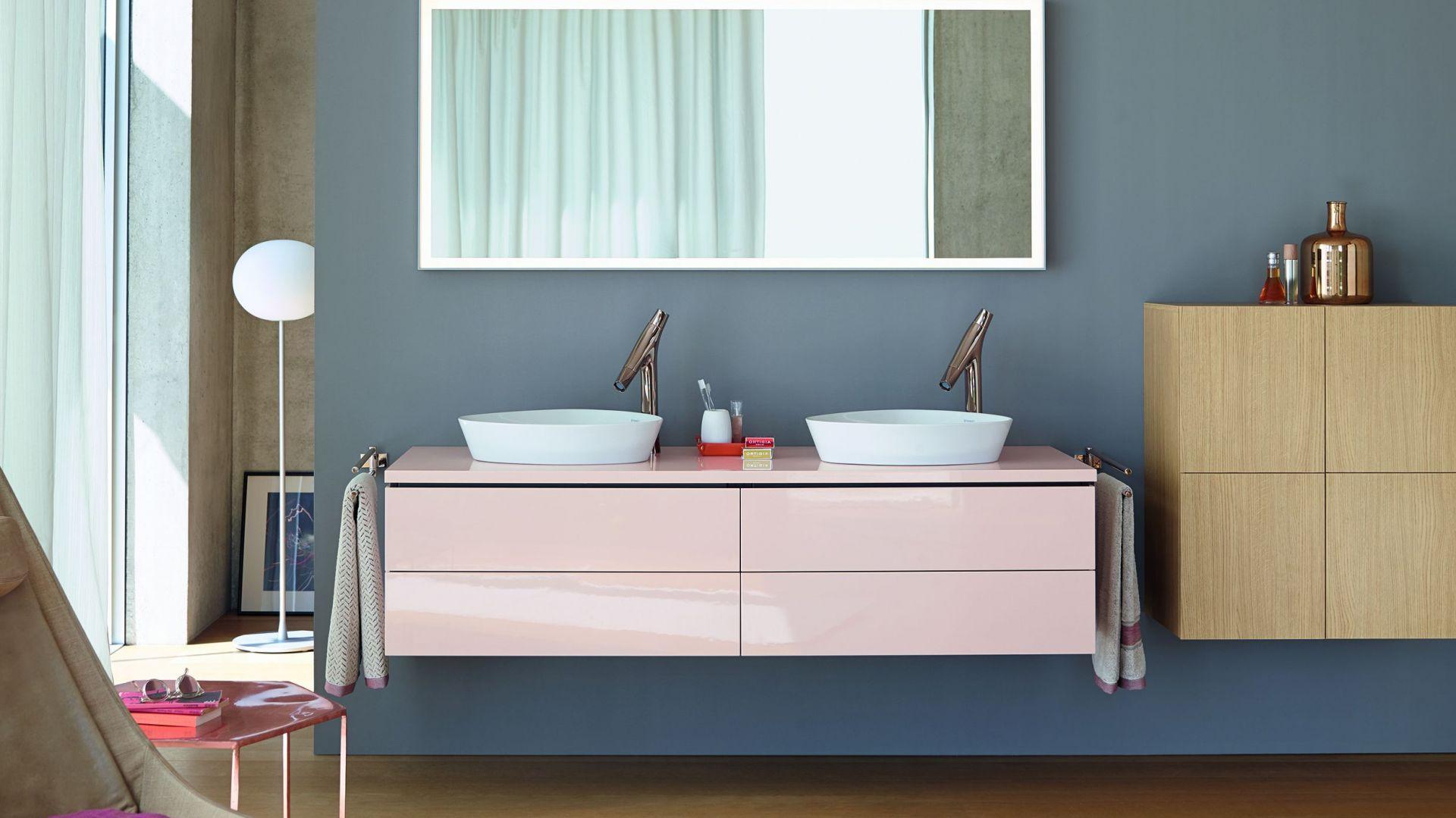 Kolekcja mebli łazienkowych L-Cube marki Duravit. Fot. Duravit