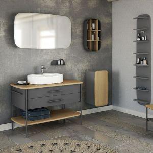 Kolekcja mebli łazienkowych Oval marki Devo. Fot. Devo