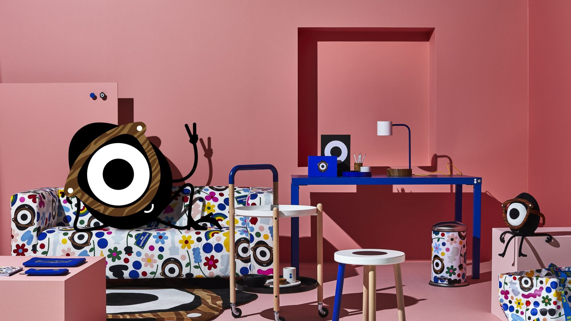 Pokój dziecka - ciekawe rozwiązania z nowej kolekcji Förnyad. Fot. IKEA