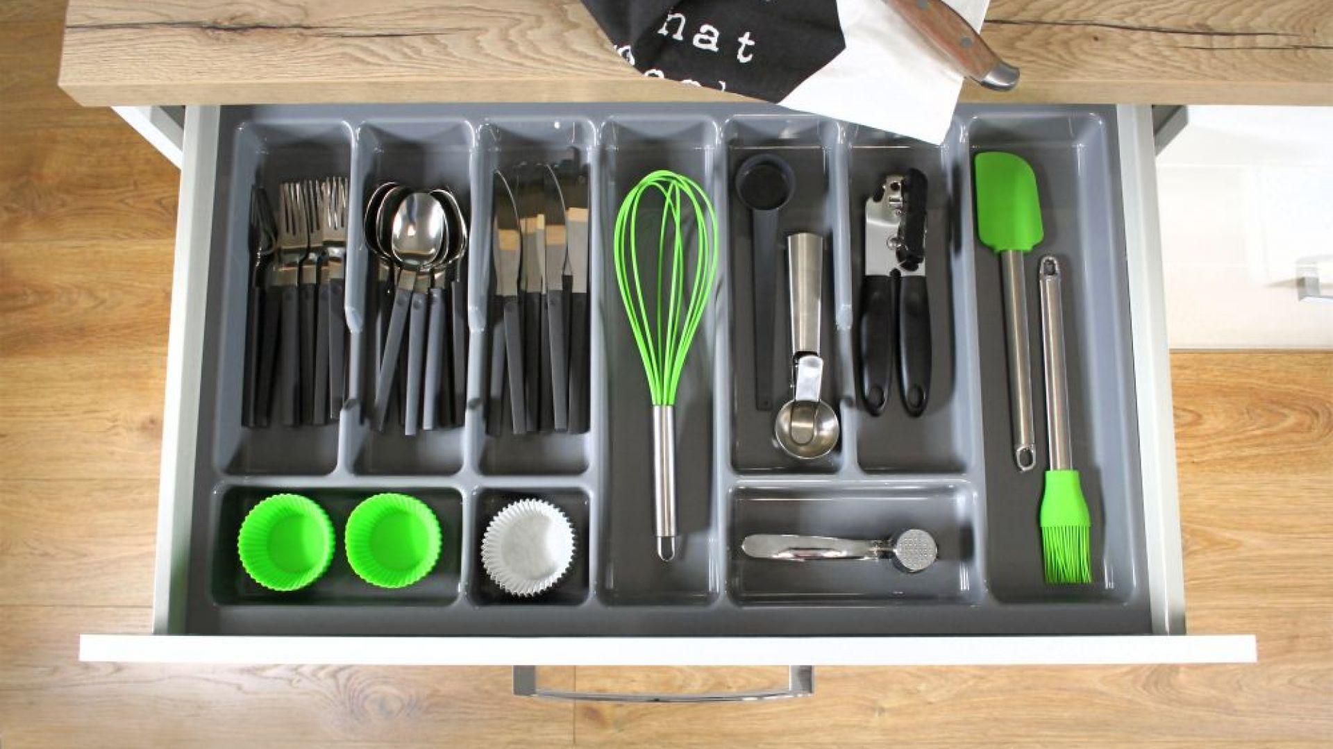 Wkład do szuflad  Comfort Box. Fot. Rejs