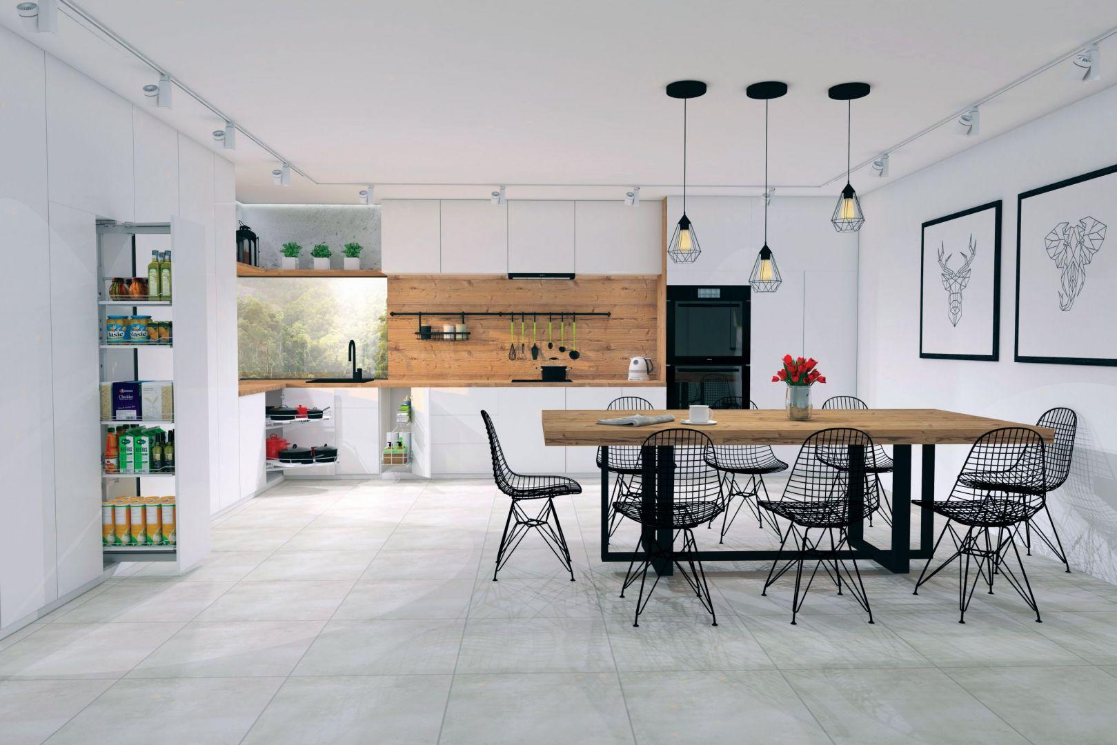 Akcesoria meblowe do nowoczesnej kuchni. Fot. Rejs