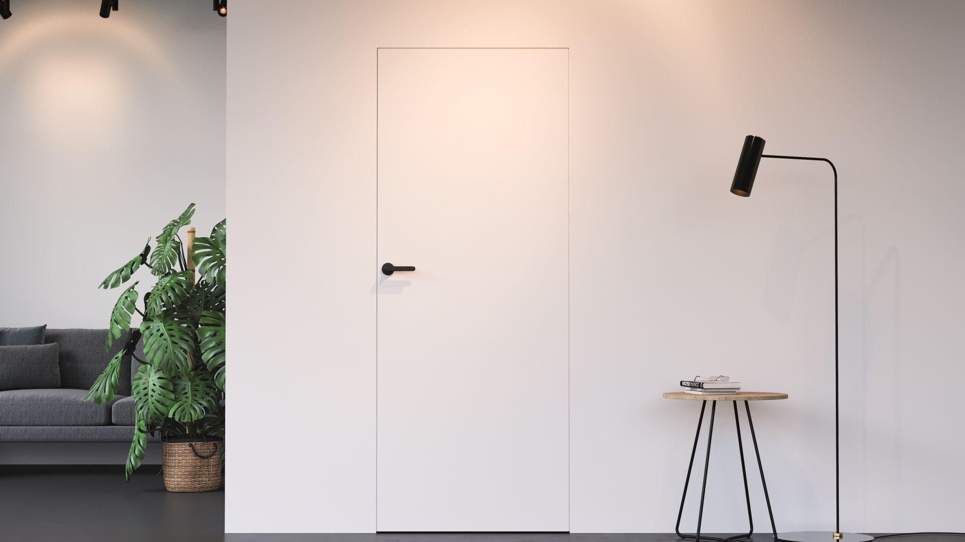 Skrzydła Porta Hide tworzą ze ścianą jednolitą powierzchnię. Fot. Porta
