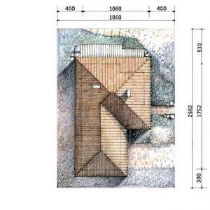 Dom S24 parterowy. Projekt: arch. Sylwia Strzelecka. Fot. S&O Projekty Sylwii Strzeleckiej