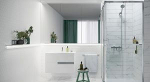 Ta minimalistyczna kolekcja w dobrej cenie proponuje wiele rozwiązań do nowoczesnych stref prysznicowych.