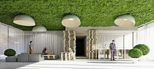 Wszechobecna zieleń, elementy przypominające ustroje budowlane wyjęte żywcem ze średniowiecznych obiektów sakralnych czy użyteczności publicznej, kolor i minimalizm. Tymi cechami można opisać zaprojektowane wnętrza hotelu Sadova w Gdańsku. Projekt i wizualizacje: ANIEA - Andrzej Niegrzybowski architekt
