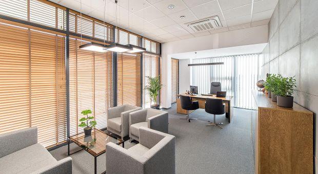 Oświetlenie biura - przykład firmy z branży elektrycznej
