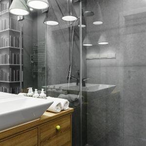 Ściany w łazience. Projekt: Joanna Morkowska-Saj. Fot. Foto&Mohito