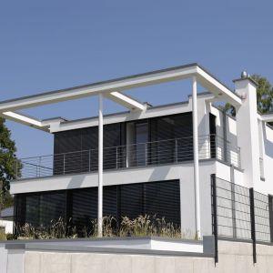Aluminiowe żaluzje fasadowe. Fot. MS więcej niż OKNA