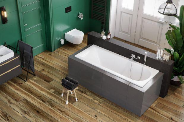 Wanna w łazience: postaw na minimalizm