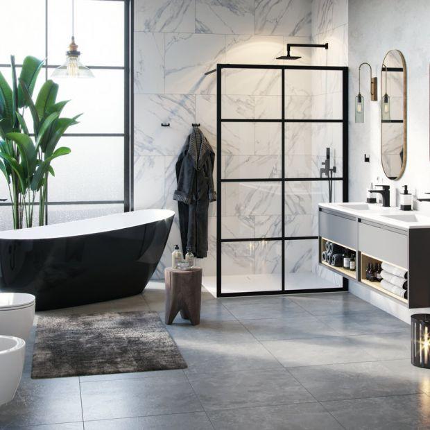 Wanna w łazience: 15 pięknych zdjęć
