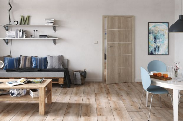 Drzwi wewnętrzne - 10 modeli do małego mieszkania