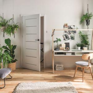 Drzwi Nordia dostępne w 16 kolorach oklein i trzech wariantach przeszklenia. Fot. Vox