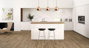Płytki ceramiczne są nadal najczęściej stosowane do wykończenia ścian i podłóg w kuchni.<br />nic dziwnego - są wytrzymałe, odporne na wilgoć i łatwe do utrzymania w czystości. Poza tym producenci oferują coraz bardziej atrakcyjne