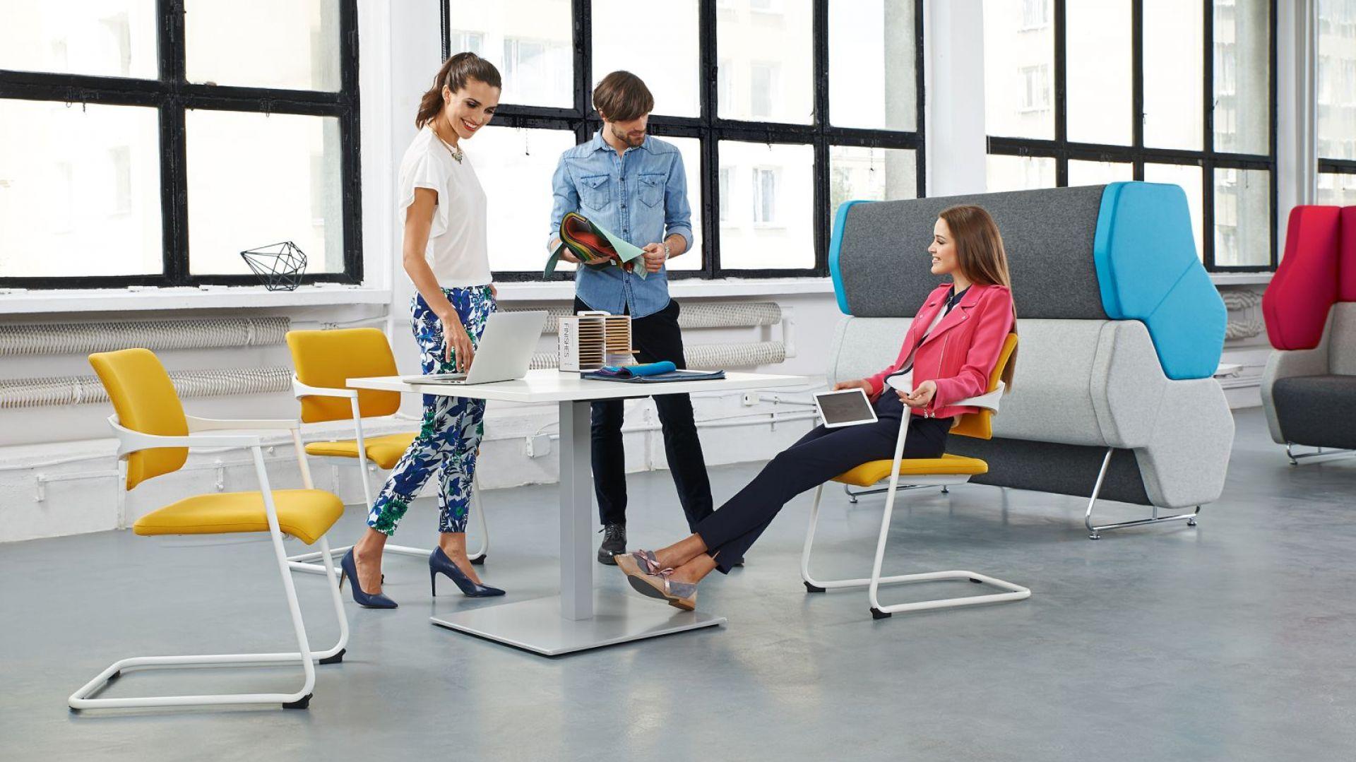 Skuteczna motywacja do pracy. Dobra aranżacja biura. Fot. Everspace/Nowy Styl Group